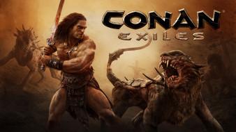 видео игры, conan exiles, conan, exiles, action, шутер