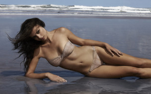 Nicole Meyer, девушка, модель