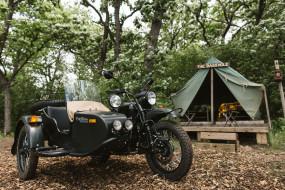 палатка, Урал, мотоцикл