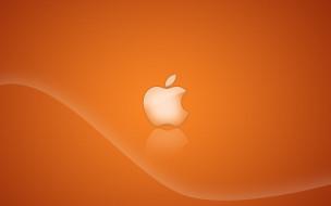 компьютеры, apple, логотип, фон