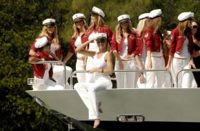 разное, знаменитости, модели, фуражки, форма, яхта