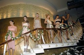 разное, знаменитости, модели, улыбки, цветы, лестница