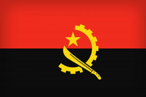 Angola, Flag, Misc