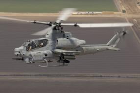 Bell AH-1Z, вертолет, ударный, Вайпер, Viper, полет