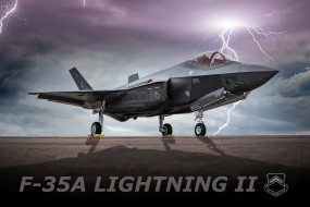 Lockheed Martin, F-35, истребитель-бомбардировщик, Lightning II
