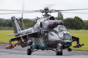Mi-24V35, Hind, Czech Air Force, ВВС Чехии, Helicopter, Ми-24, Czech