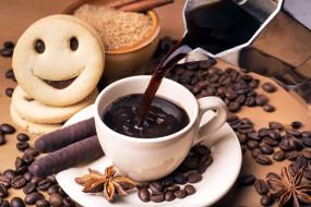 анис, печенье, кофе
