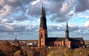 Church in Uppsala, Sweden