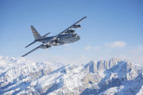 lockheed c130 hercules, локхид с130 геркулес, военно-транспортный самолет, us air force