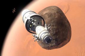 космос, космические корабли,  космические станции, вселенная, пространство