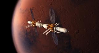 космос, космические корабли,  космические станции, пространство, вселенная