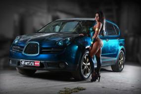 автомобили, -авто с девушками, девушки, авто