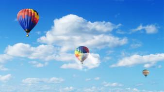 облака, шары