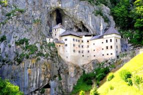 predjama castle slovenia, города, - дворцы,  замки,  крепости, predjama, castle, slovenia