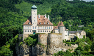schonbuhel castle, города, замки австрии, schonbuhel, castle