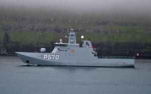 HDMS Knud Rasmussen, патрульный корабль, королевский датский флот