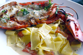 еда, рыбные блюда,  с морепродуктами, лобстер