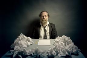 человек, писатель, бумага