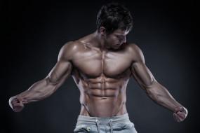 обои для рабочего стола 3517x2345 мужчины, - unsort, bodybuilding, pose, sexy, muscles