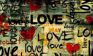 сердечки, слова, любовь