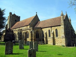 St Mary the Virgin Church, Battle, Sussex, UK