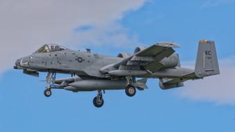 a-10c thunderbolt ii, авиация, боевые самолёты, ввс