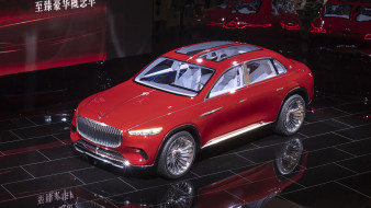 mercedes-maybach vision ultimate luxury suv concept 2018, автомобили, выставки и уличные фото, suv, luxury, ultimate, 2018, concept, vision, mercedes-maybach