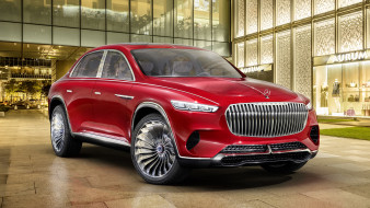 mercedes-maybach vision ultimate luxury suv concept 2018, автомобили, mercedes-benz, concept, suv, luxury, ultimate, vision, mercedes-maybach, 2018