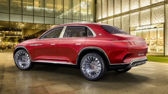 mercedes-maybach vision ultimate luxury suv concept 2018, автомобили, mercedes-benz, concept, suv, luxury, ultimate, mercedes-maybach, vision, 2018