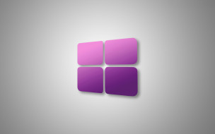 компьютеры, windows  10, логотип, фон