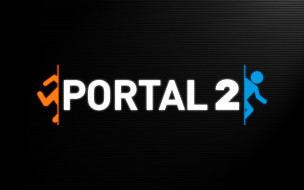 логотип, portal, portal 2, video games, видеоигры