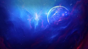 вселенная, звезды, галактика, планета
