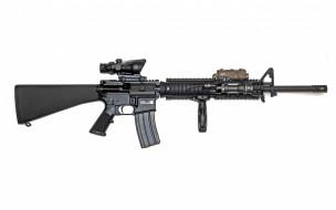 обои для рабочего стола 2880x1800 оружие, автоматы, автоматическая, американская, m16a4, винтовка