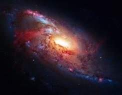 космос, галактики, туманности, звезды, галактика