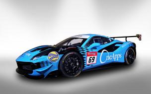 спорткар, 2018 cars, 4k, racing driver, Zen Low, OneApps NAZA Aylezo, Ferrari 488 Challenge, феррари