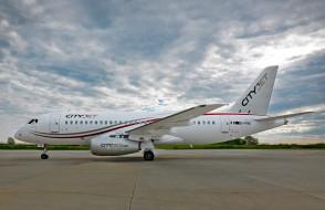 ssj100, sukhoi, пассажирский лайнер, ирландская, пассажирская авиакомпания сityjet