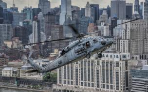 городской пейзаж, военный вертолет, wallhaven, sikorsky uh-60 black hawk