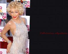платье, браслет, блондинка, певица, Кристина Агилера