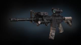 оружие, 3d, пулемет