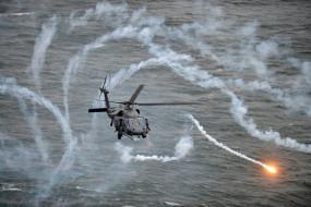 ложные цели, армия cоединенных штатов, сикорский, военный вертолет, uh-60 black hawk