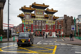 china town,  liverpool, города, - улицы,  площади,  набережные, china, town, liverpool