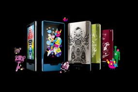 телефоны, чехлы, существа, дизайн