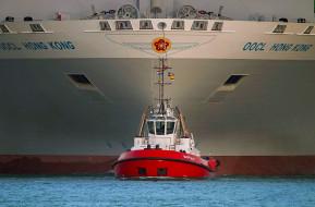 корабли, баркасы ,  буксиры