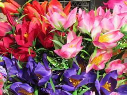 исскуственные цветы, весна 2018
