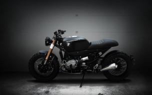 2018, BMW R1200R, черный, новые мотоциклы, родстер, чоппер