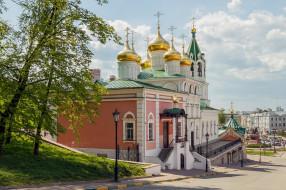 церковь, храм, здание, город