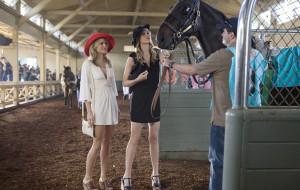 девушки, Беверли Хилз, лошади, скачки, Наоми, блондинки