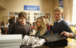 кино фильмы, 90210, тэдди, блондинка, лиам, beverly, hills, столовая