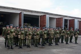 построение, экипировка, солдаты, военные, мотострелковые войска