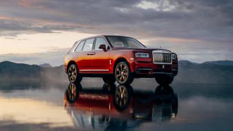красный, 2019, Cullinan, Rolls-Royce